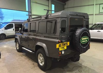 window_tinting Land Rover Defender