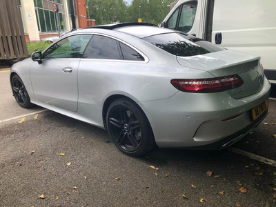 Mercedes E Class Coupe window tinting