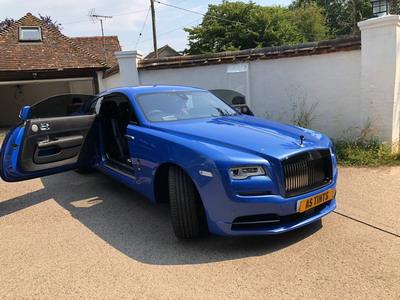 Rolls Royce Wraith window tinting